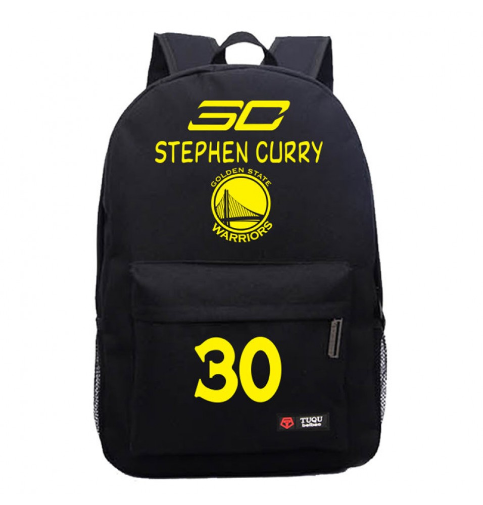 Timecosplay Warriors Stephen Curry 30 Blue Shoulders Bag Schoolbag