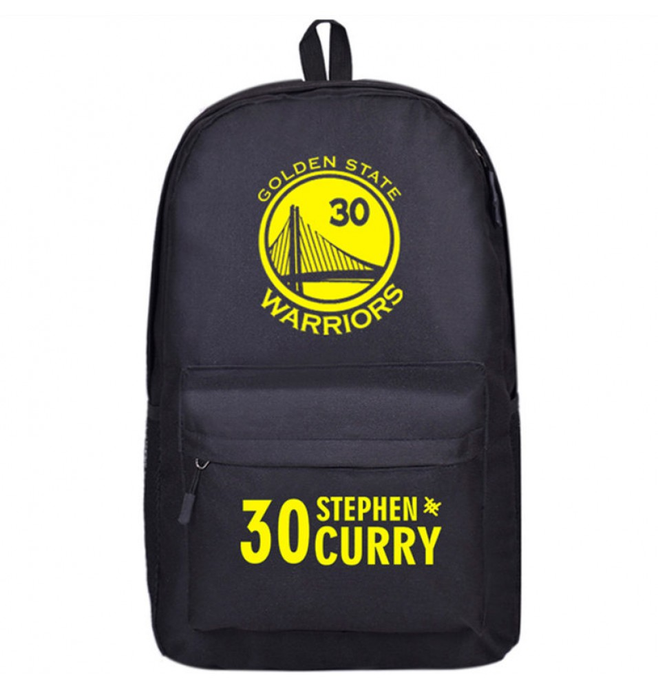 Warriors Stephen Curry 30 Shoulders Blue Bag Schoolbag