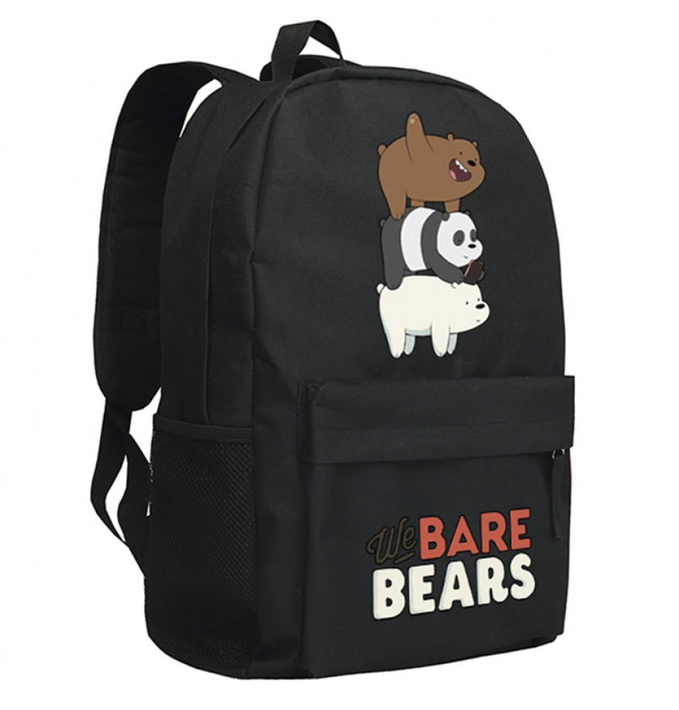 Timecosplay We Bare Bears Shoulders Bag Schoolbag Backpack