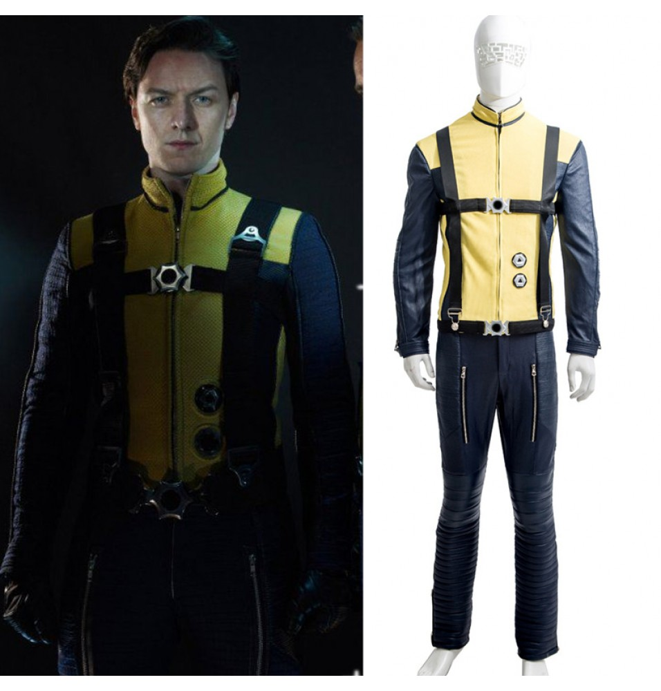 X-Men First Class Professor X Charles Francis Xavier Cosplay Costume