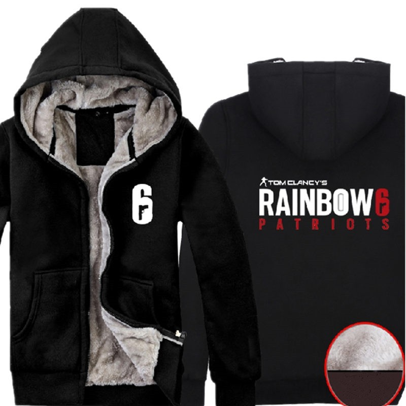 Timecosplay Tom Clancy's Rainbow Six Siege Zipper Hoodies