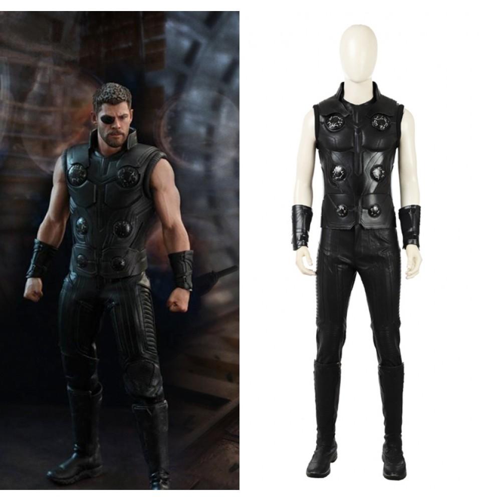 2018 Avengers Infinity War Thor Cosplay Costume Odinson Costume