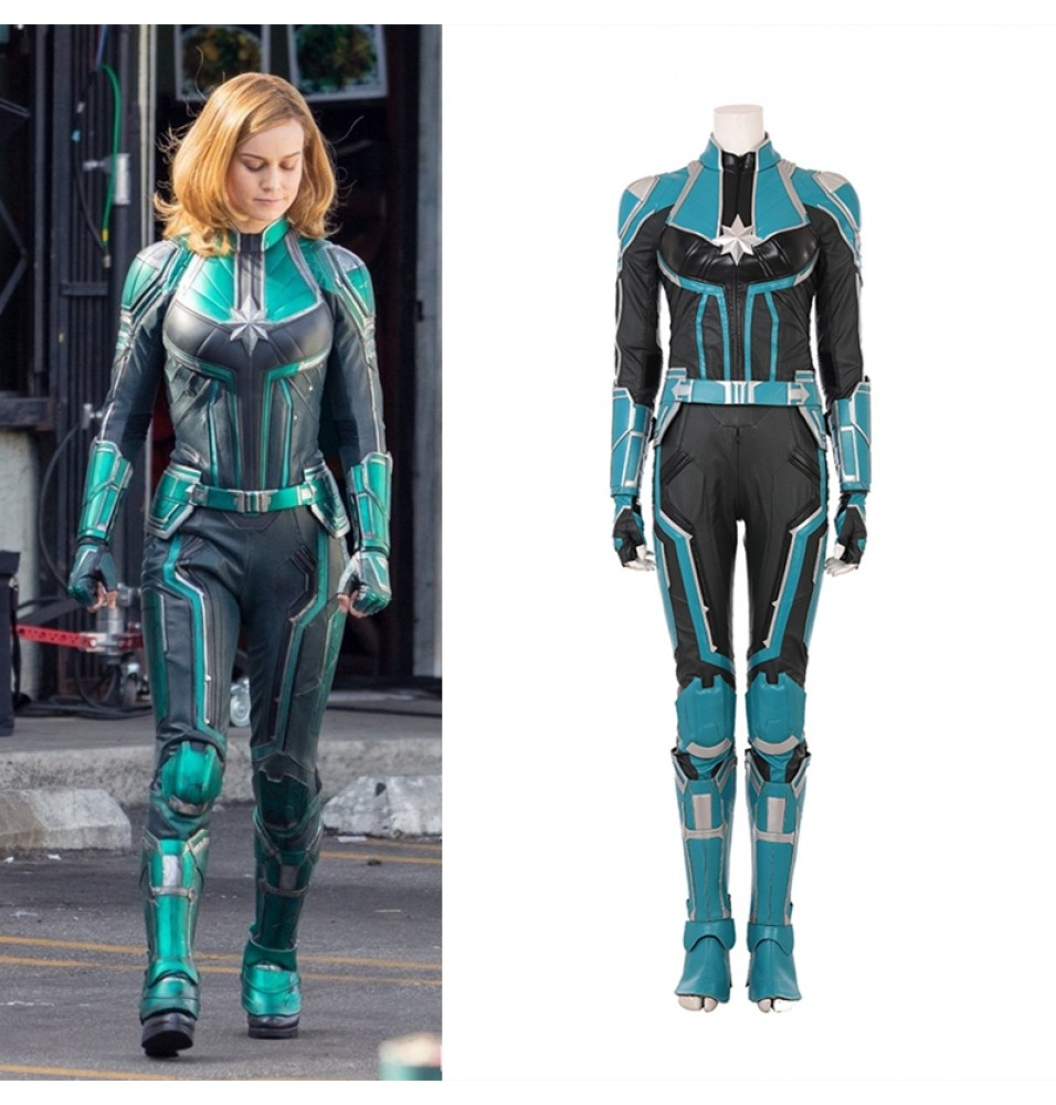 2019 Captain Marvel Cosplay Costume Carol Danvers Cosplay Costume