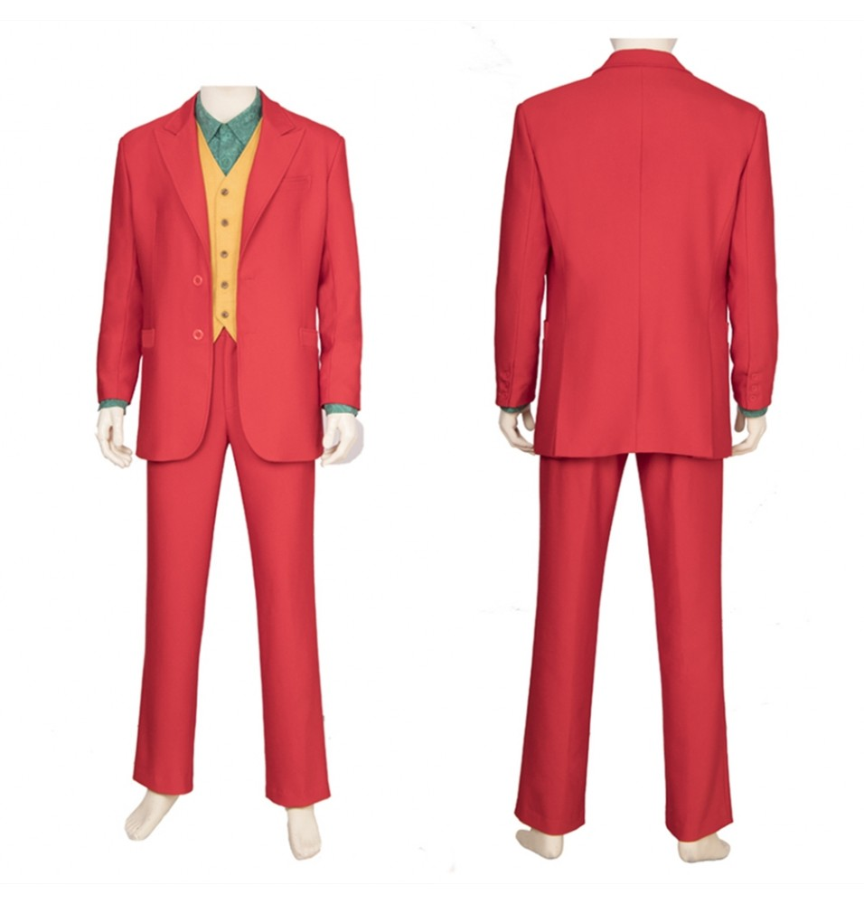 2019 Joker Cosplay Costume Outfit