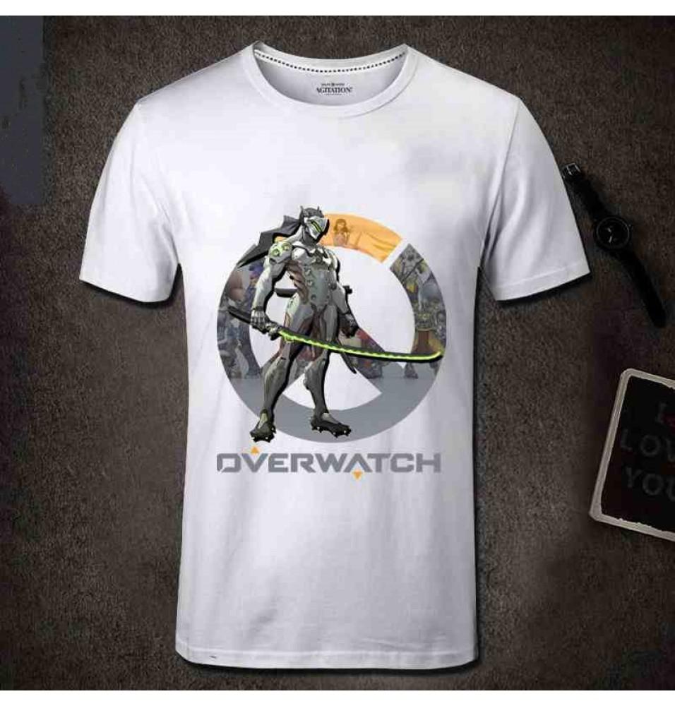 Overwatch Genji Men Short Sleeve T-shirt