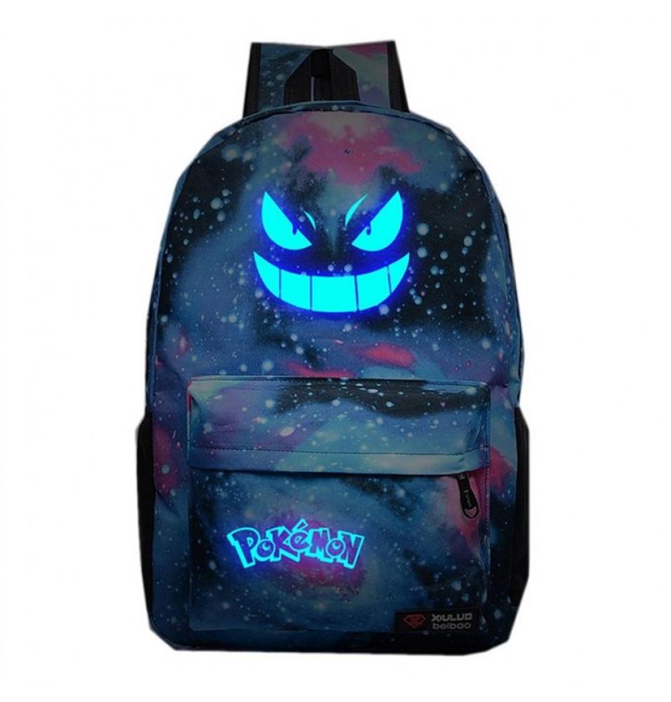 Pokemon Go Anime Cosplay Bag Luminous Backpack School Bag