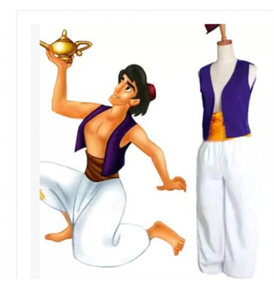 Animation Aladdin Prince  Halloween Party Costume Cosplay