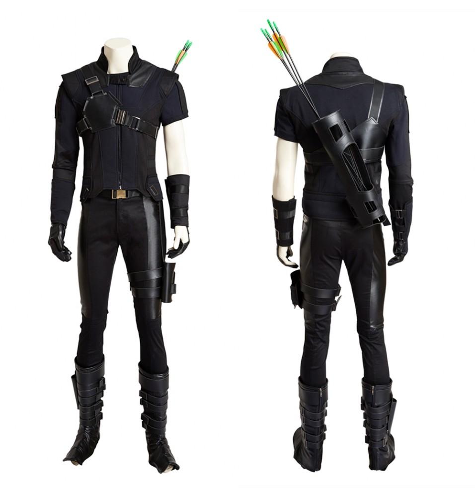 Captain America 3 Hawkeye Cosplay Costume