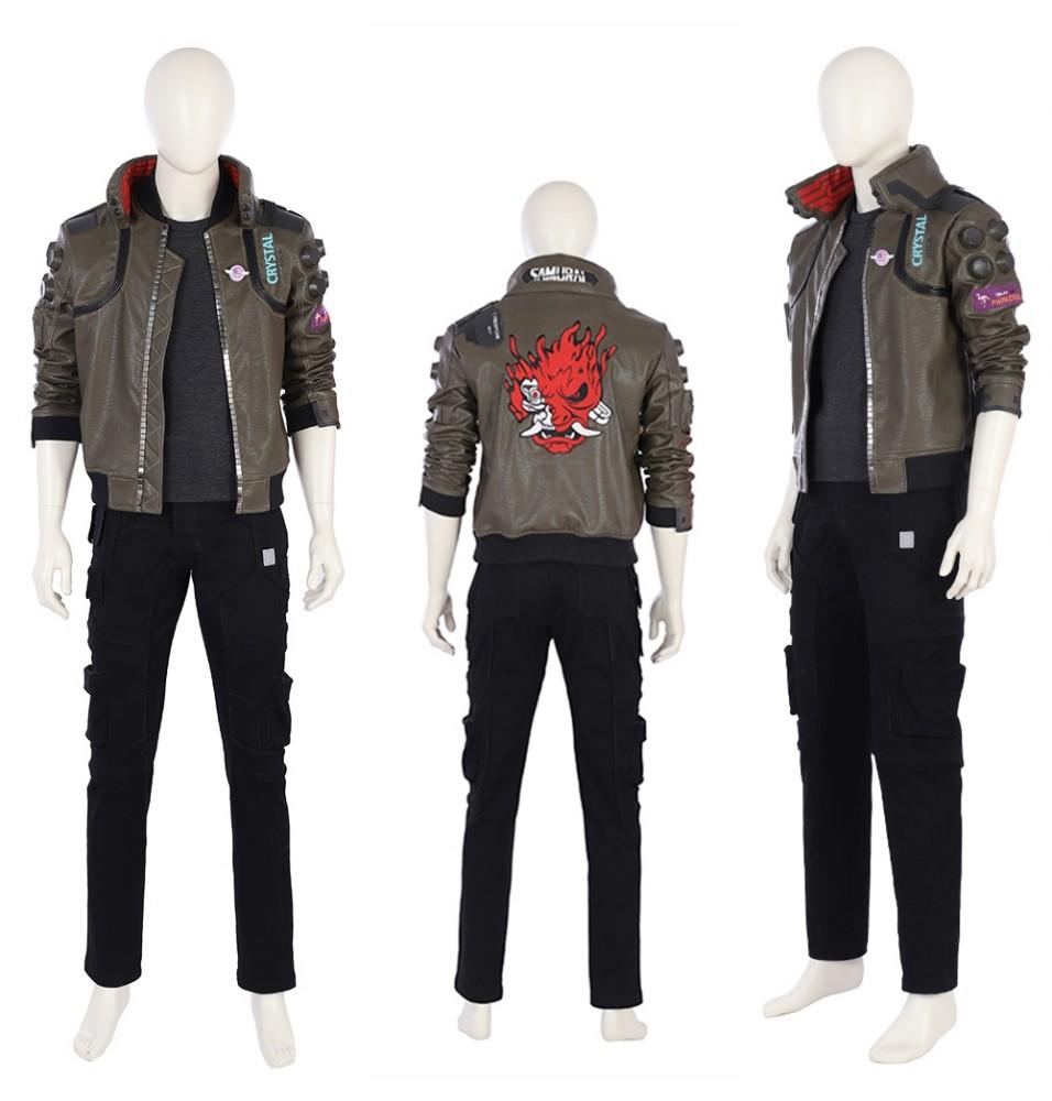 Cyberpunk 2077 Male V Cosplay Costume