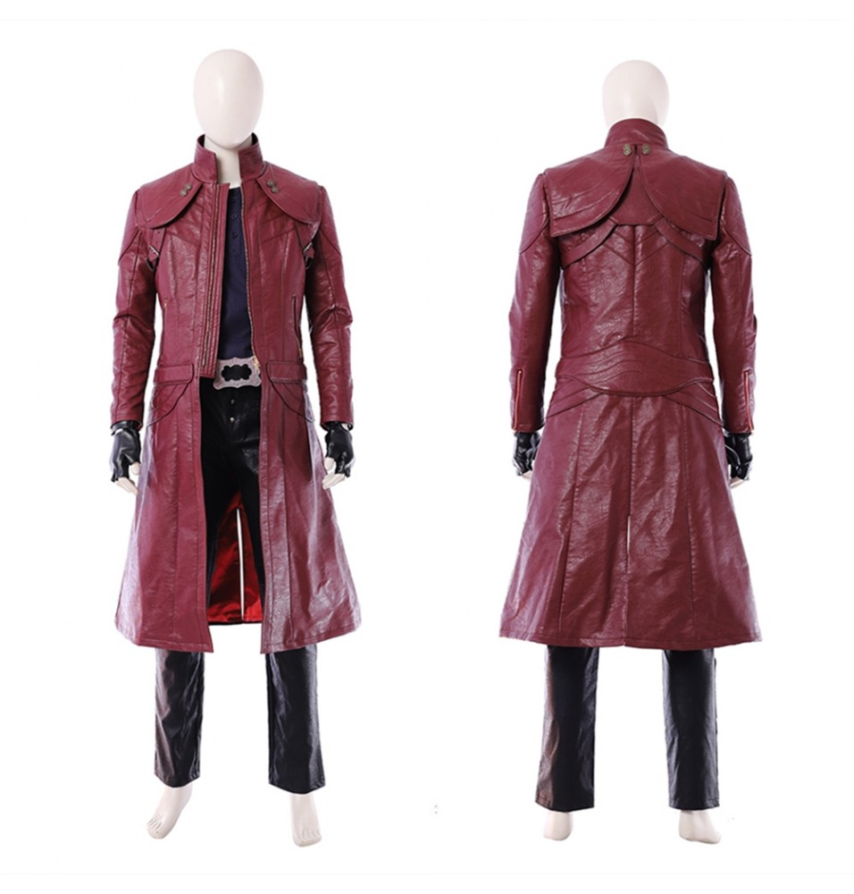 Devil May Cry 5 Dante Cosplay Costume Deluxe Outfit