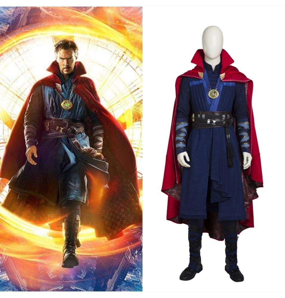 Doctor Strange Costume Stephen Vincent Cosplay Costume - Deluxe Version