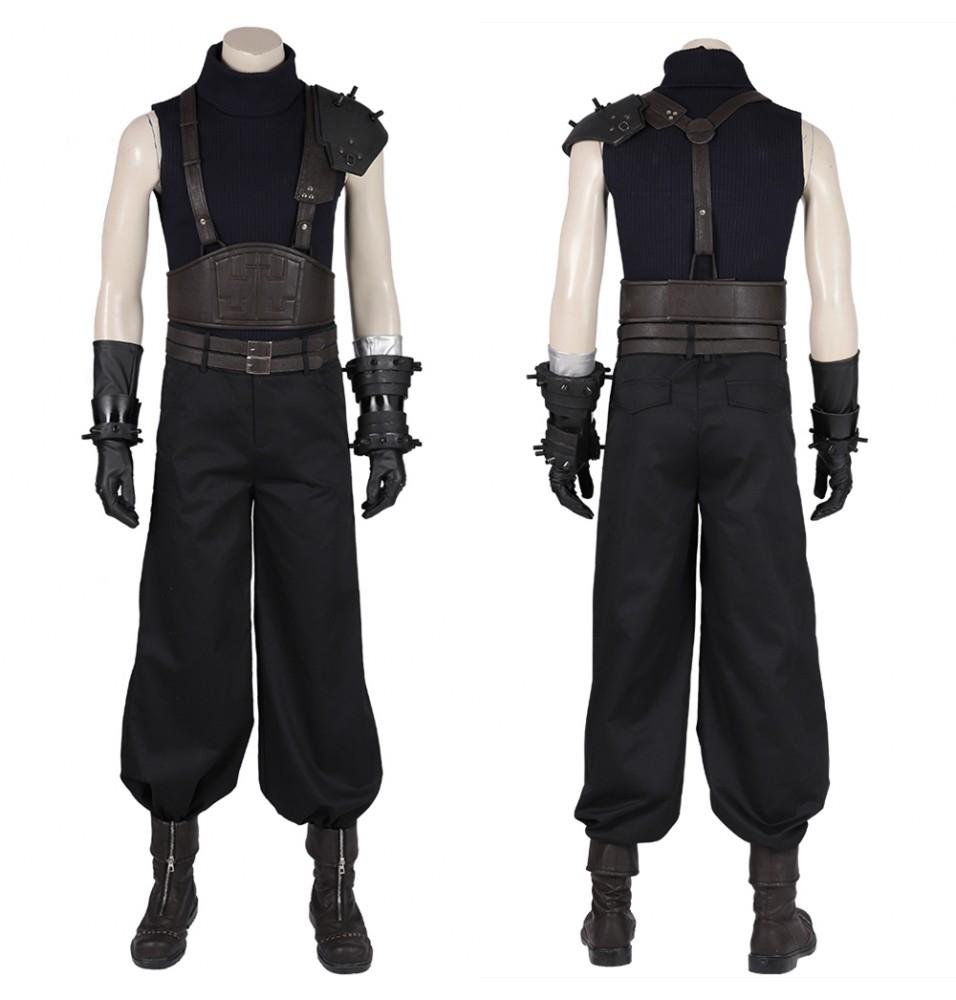 Final Fantasy VII Remake Cloud Strife Cosplay Costume