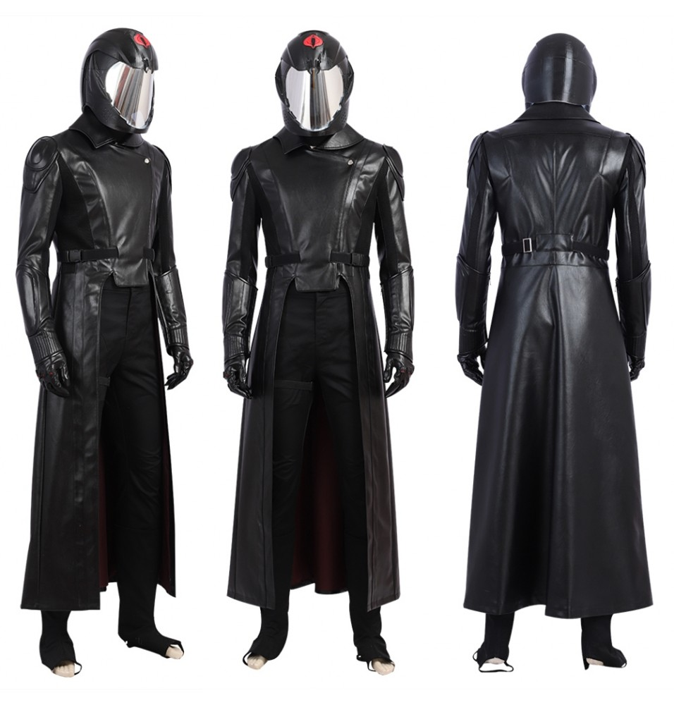 G.I.Joe Retaliation Cobra Commander Cosplay Costume