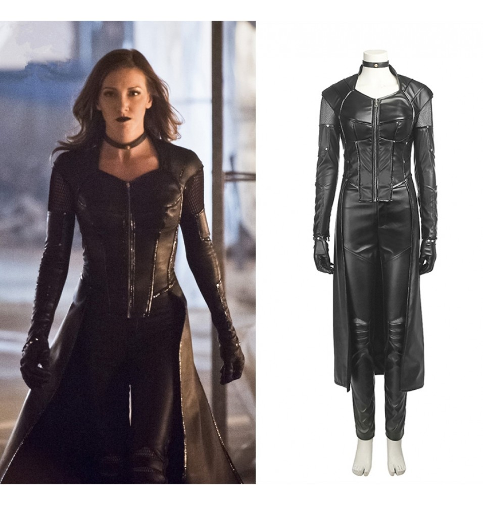 Green Arrow 5 Dinah Laurel Lance Cosplay Costume Black Canary Costume
