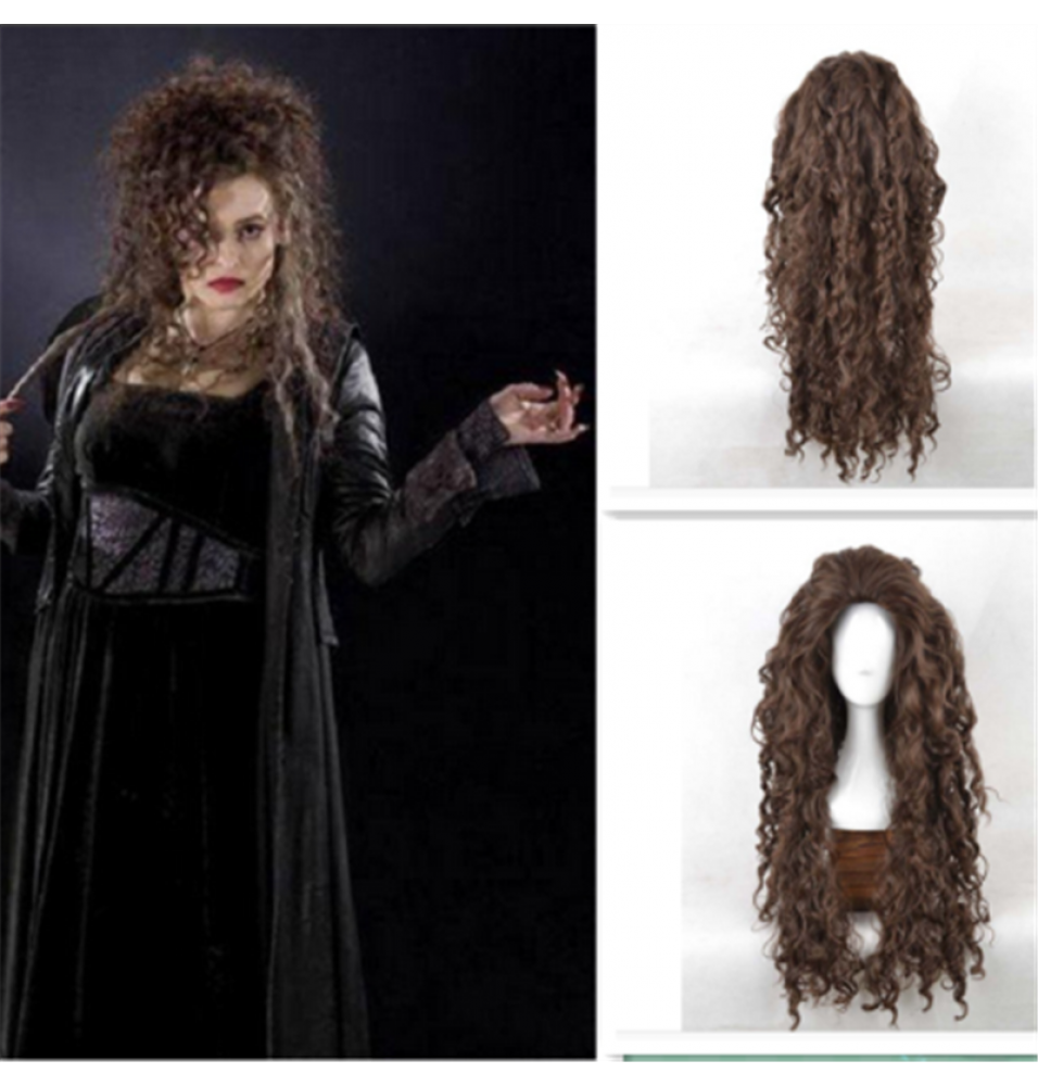 Harry Potter Bellatrix Lestrange Cosplay Wigs