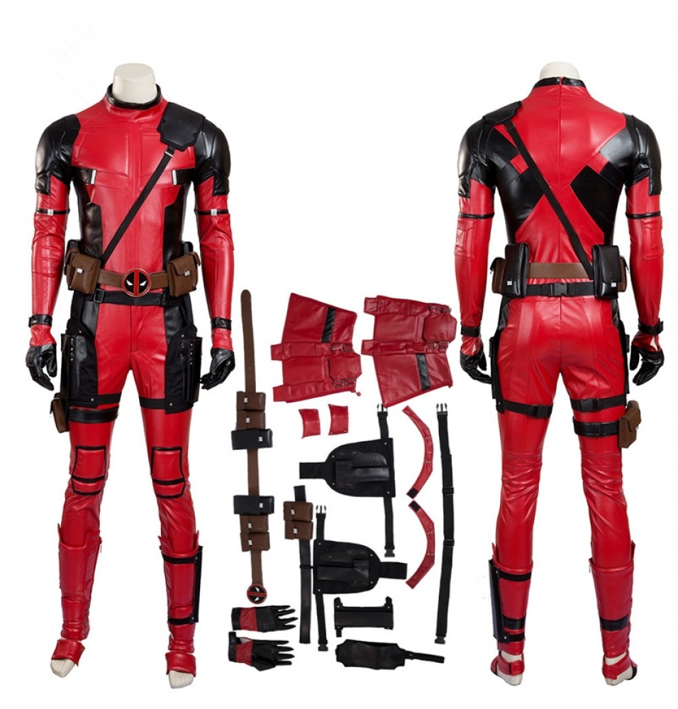 Deadpool Cosplay Wade Winston Wilson Costume