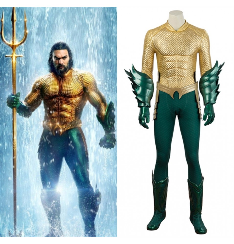 Movie Aquaman Costume Arthur Curry Cosplay Costume