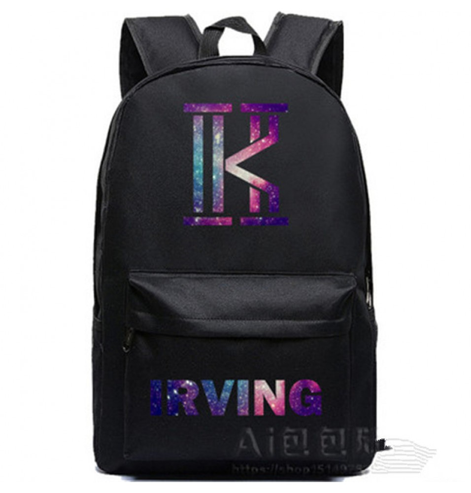 Timecosplay Cleveland Cavaliers Kyrie Irving 2 Logo Backpack School Bag