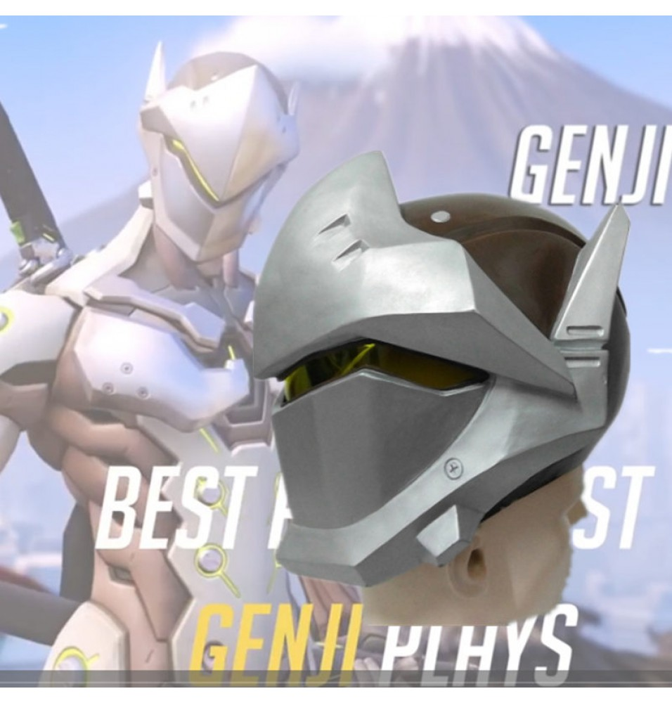 Overwatch Genji Cosplay Helmet  Halloween Cosplay Mask