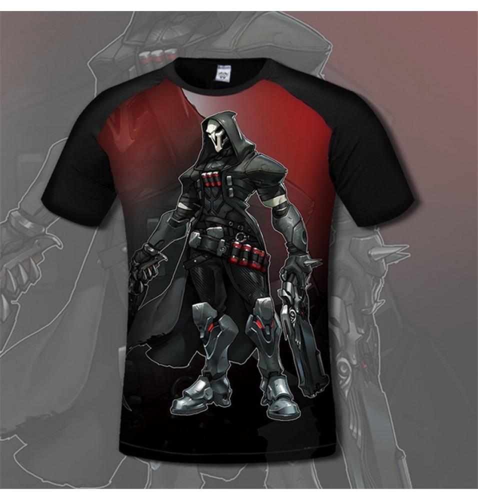 Overwatch Reaper 3D Print Men T-Shirts