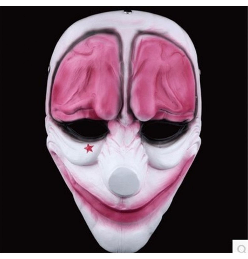 PAYDAY 2 Hoxton Cosplay Halloween Mask Collection