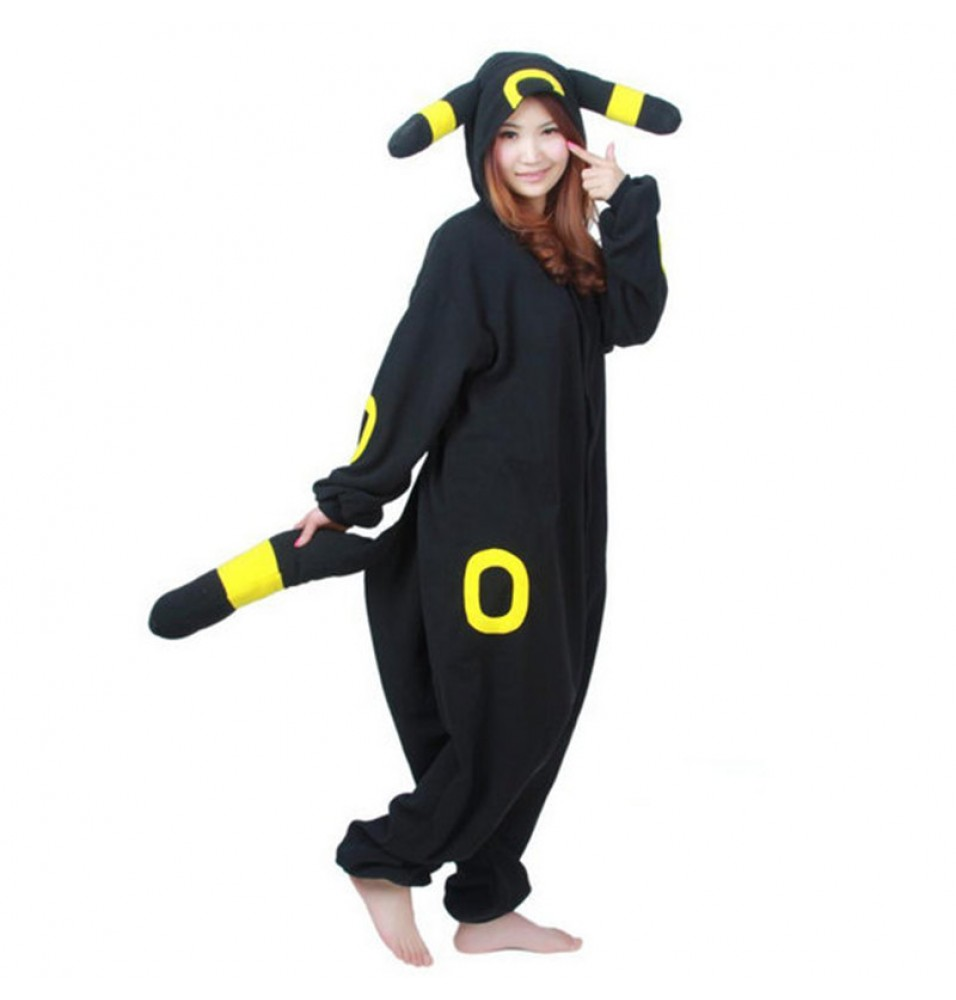 Pokemon Umbreon Onesie Kigurumi Pajama For Adults