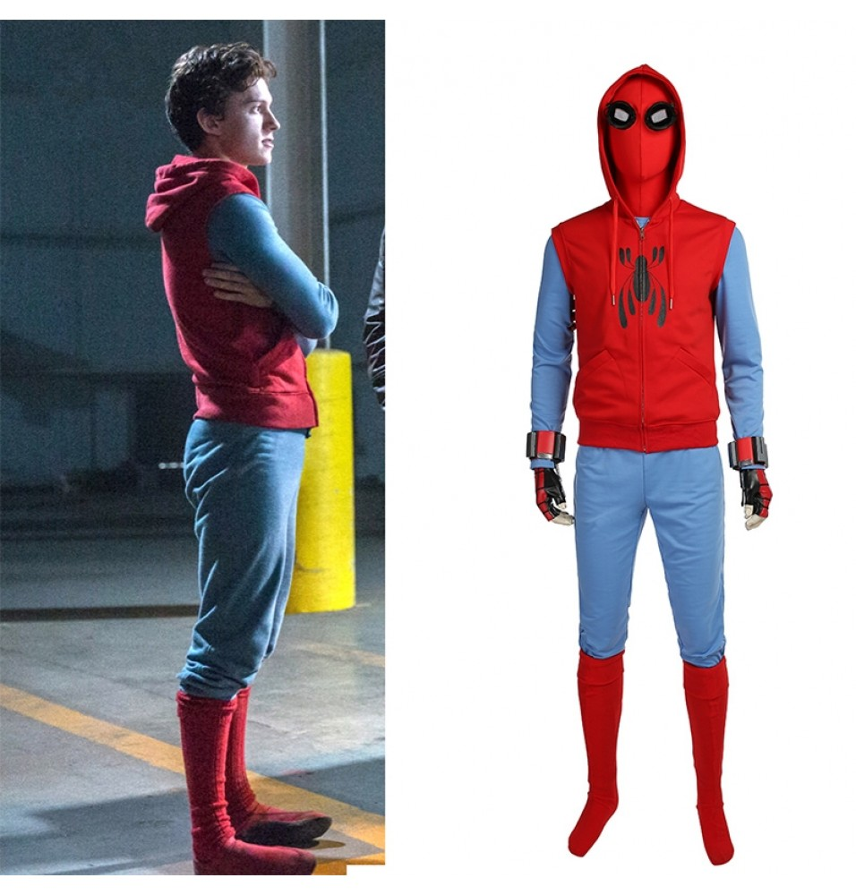 Spider-Man Homecoming Cosplay Costume Tom Holland Spiderman Costume