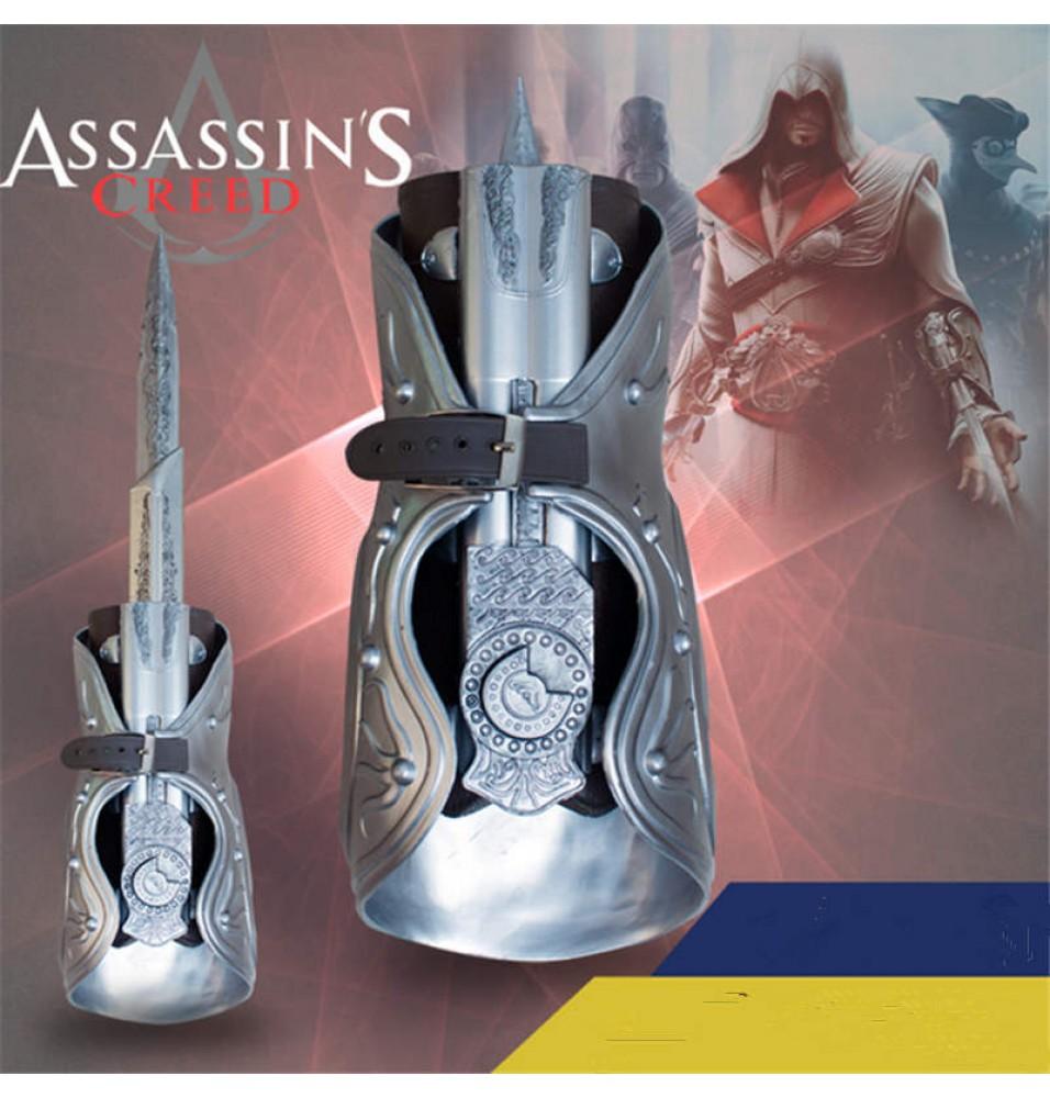 Assassin's Creed Brotherhood Ezio Prop Hidden Blade Props Cosplay
