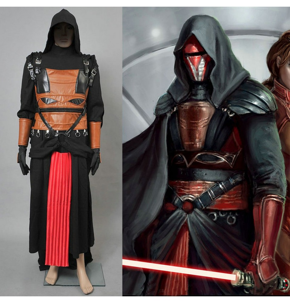 Star Wars Darth Revan Cosplay Costumes Deluxe Costume