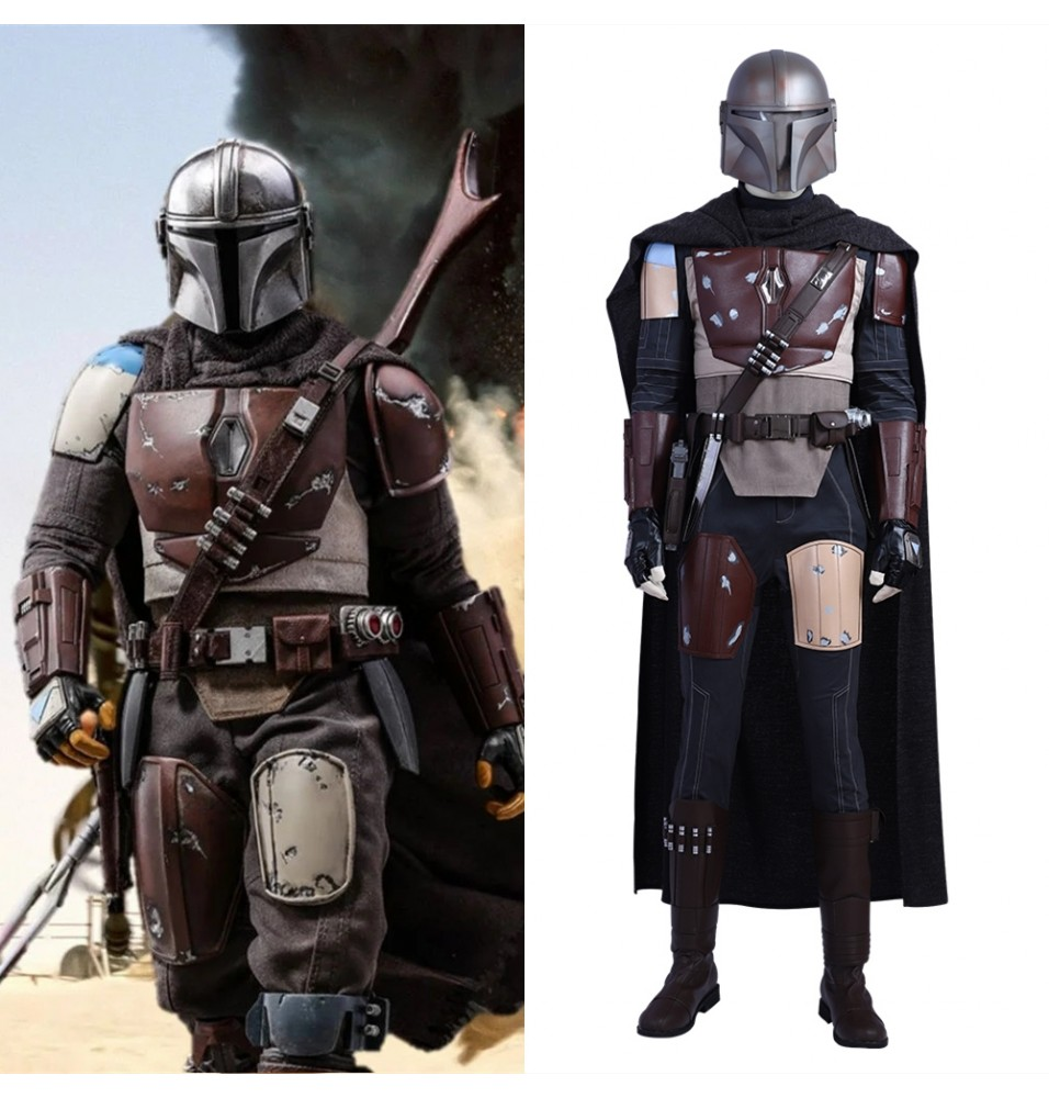 Star Wars The Mandalorian Cosplay Costume Deluxe