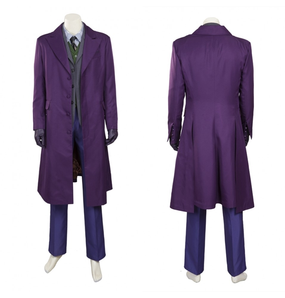 The Dark Knight Joker Cosplay Costume