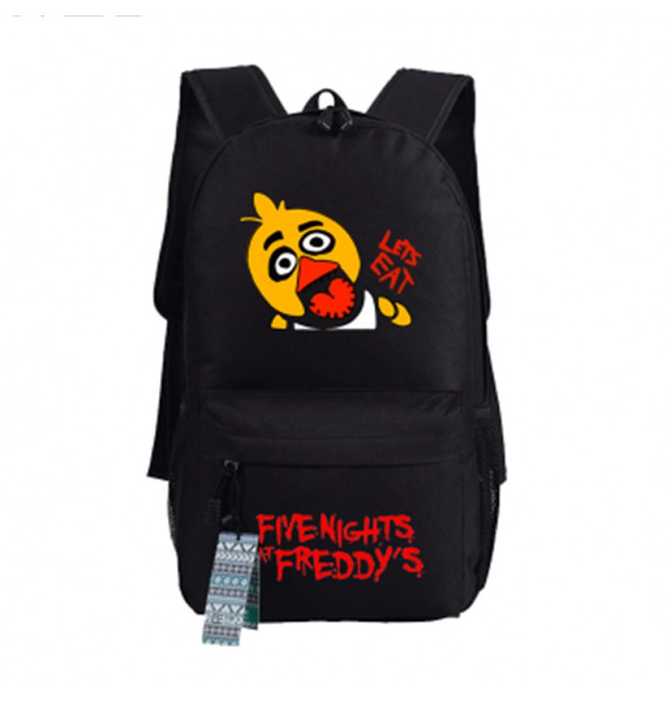 Timecosplay Five Nights at Freddys Chica images Schoolbag Backpack