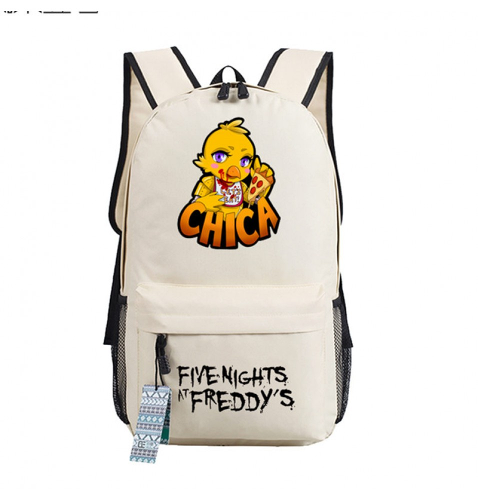Timecosplay Five Nights at Freddys Chica Schoolbag Backpack