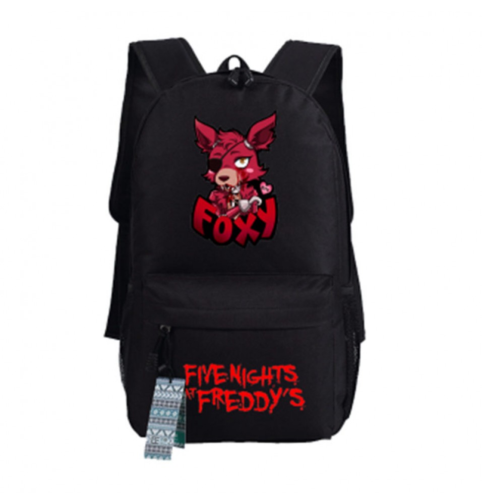 Timecosplay Five Nights at Freddys Foxy images Schoolbag Backpack