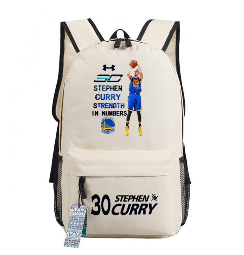 Timecosplay Golden State Warriors Team 30 Stephen Curry MVP Shoulders Bag Schoolbag