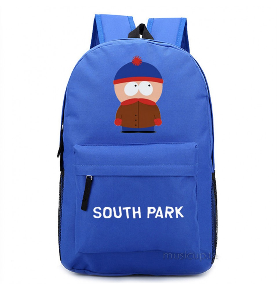 Timecosplay South ParkStan Marsh Shoulders Bag Schoolbag Backpack