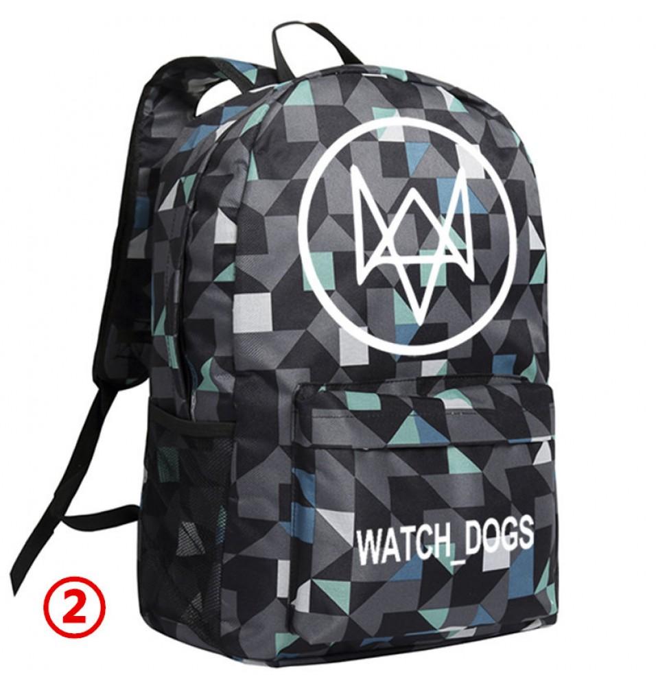 Watch Dogs Lattice Backpack Schoolbag