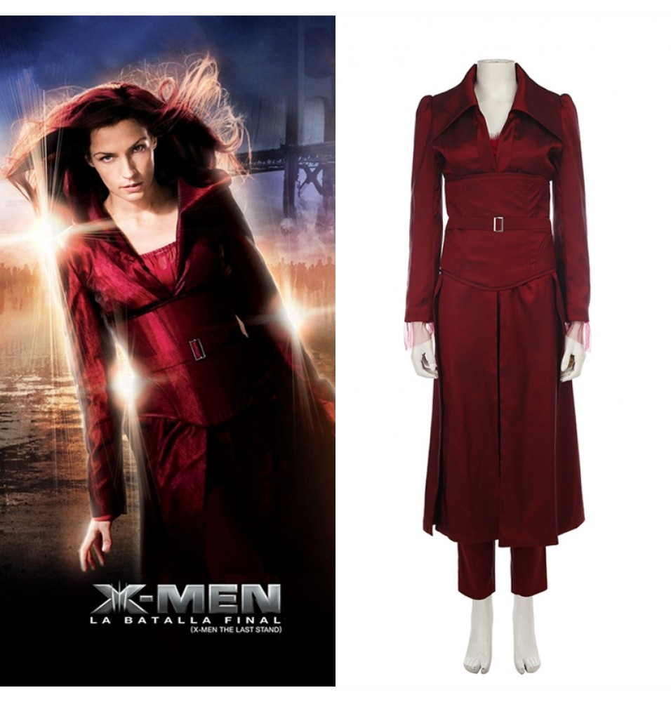 X-Men Phoenix Jean Grey Cosplay Costume